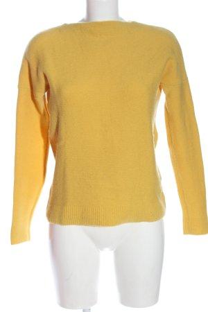 Marc O'Polo Maglione di lana giallo pallido stile casual