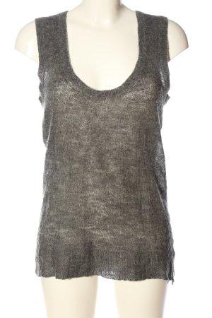 Marc O'Polo Maglione di lana grigio chiaro stile casual