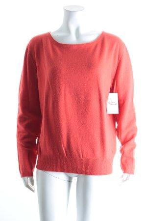 Marc O'Polo Jersey de lana rojo look casual