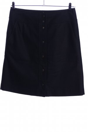 Marc O'Polo Wollrock schwarz Casual-Look