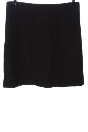 Marc O'Polo Wollen rok zwart zakelijke stijl