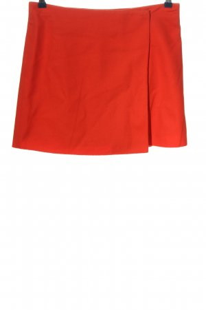 Marc O'Polo Falda de lana rojo look casual