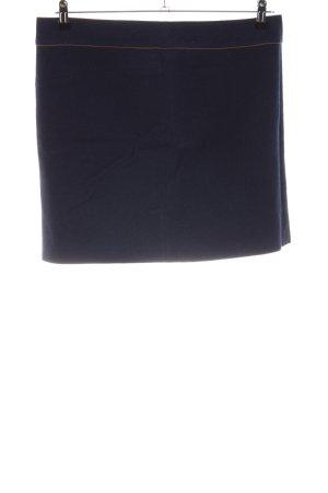 Marc O'Polo Wollrock blau Casual-Look