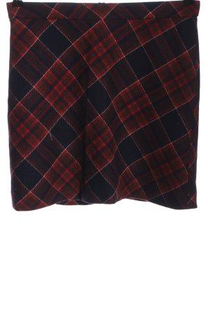 Marc O'Polo Jupe en laine motif à carreaux style décontracté