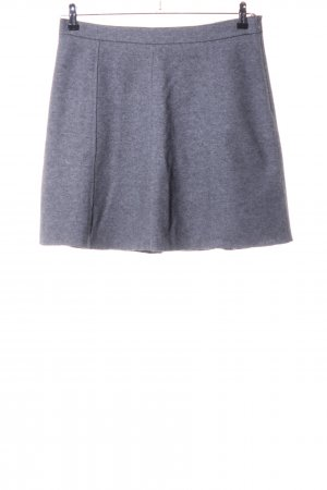 Marc O'Polo Wool Skirt light grey allover print casual look