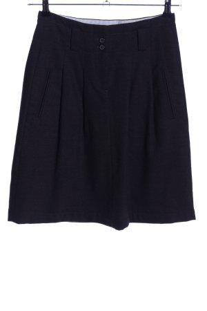 Marc O'Polo Falda de lana negro look casual