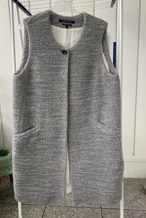 Marc O'Polo Smanicato lavorato a maglia grigio chiaro