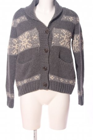 Marc O'Polo Cable Sweater light grey-cream graphic pattern casual look