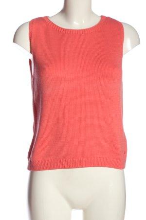 Marc O'Polo Warkoczowy sweter różowy W stylu casual