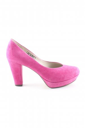 MARC Plateau-Pumps pink Casual-Look