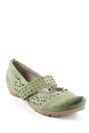 MARC Schlüpfschuhe grün Casual-Look