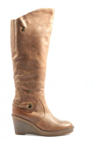 MARC Slouch Boots brown casual look