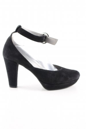 MARC Spangen-Pumps schwarz Casual-Look