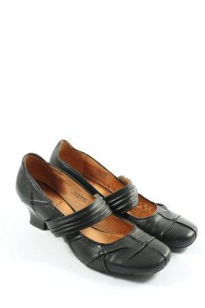 MARC Spangen-Pumps schwarz klassischer Stil