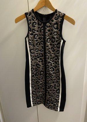 MarcCain Animalprint Kleid schwarz
