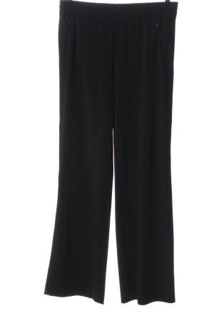 MARCCAIN Luźne spodnie czarny W stylu casual