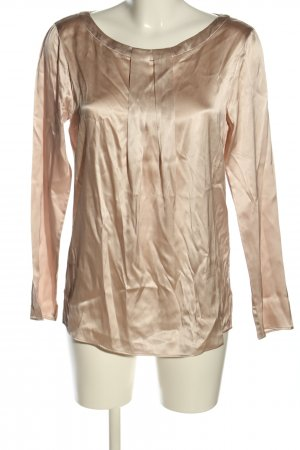 MARCCAIN Glanzende blouse brons casual uitstraling