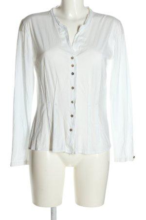 MARCCAIN Hemd-Bluse weiß Business-Look