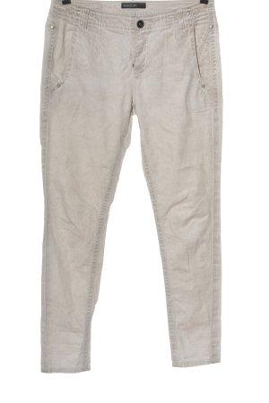 MARCCAIN Jeans slim blanc cassé style décontracté