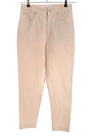 MARCCAIN High Waist Jeans creme Casual-Look
