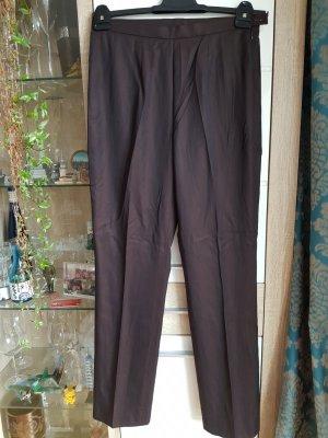 MARCCAIN Pantalón de lana negro-color bronce