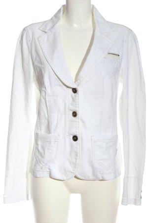 MARCCAIN Denim Blazer white casual look