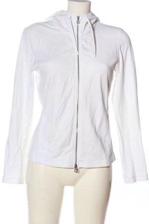MARCCAIN Sudadera con capucha blanco look casual