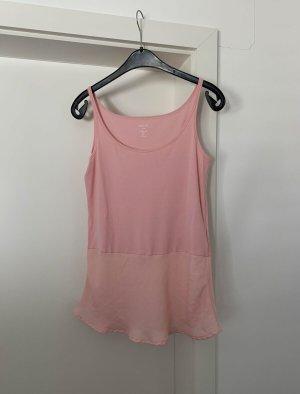 MARCCAIN Top peplo rosa pallido