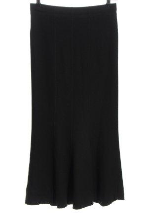 MARCCAIN Maxi Skirt black business style