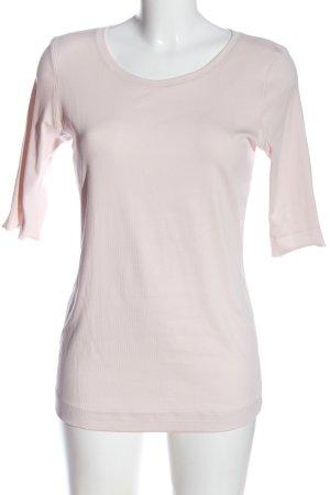 MARCCAIN Koszulka o kroju podkreślającym sylwetkę w kolorze białej wełny