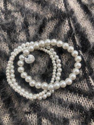 MARCCAIN Pearl Bracelet white