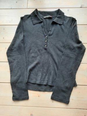MARCCAIN Jersey de lana negro Algodón