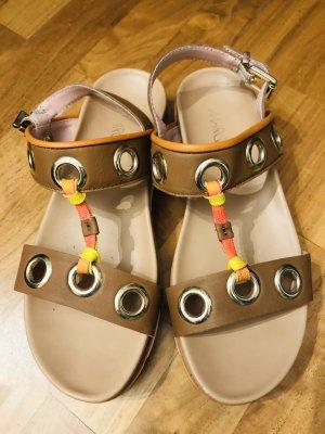 MARCCAIN Plateauzool sandalen veelkleurig