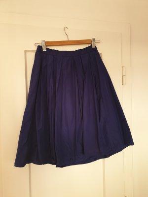 MARCCAIN Zijden rok blauw