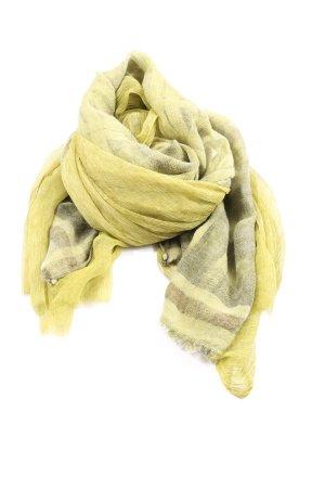 MARCCAIN Écharpe en tricot motif rayé style décontracté