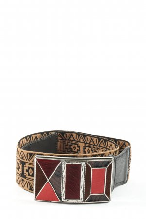 MARCCAIN Waist Belt graphic pattern casual look