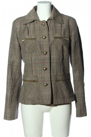 MARCCAIN Tweed Blazer check pattern casual look