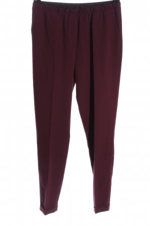 Marcel Ostertag Pantalone a 7/8 rosso stile professionale