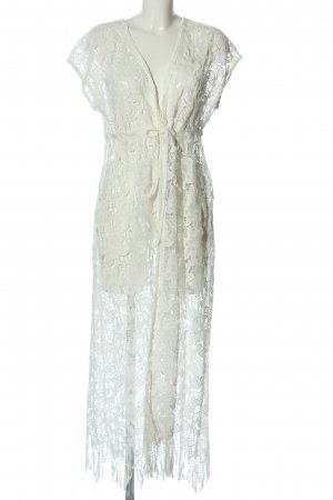 Marcel Ostertag Lace Dress white casual look