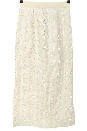 Marcel Ostertag Lace Skirt natural white elegant