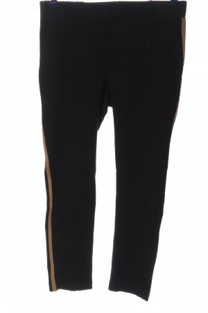 Marcel Ostertag Jersey Pants black-natural white casual look