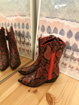 Tamaris Winter Boots multicolored leather