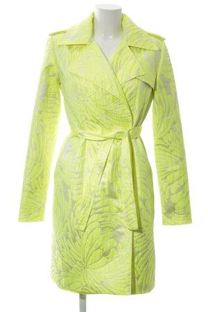 Marcel Ostertag Web Twin Set grün abstraktes Muster extravaganter Stil