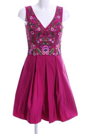 Marchesa Midi Dress multicolored elegant polyester