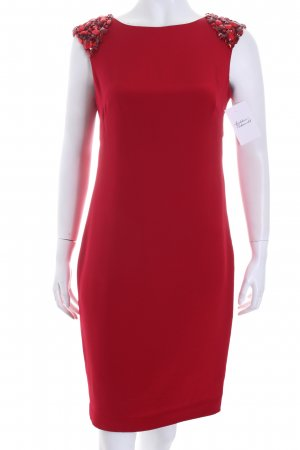 Marchesa Cocktail Dress red elegant