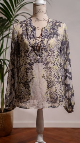 Guess by Marciano Long Sleeve Blouse multicolored