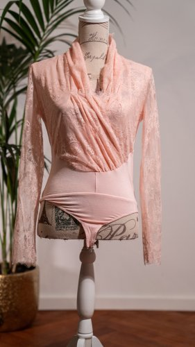 Guess by Marciano Blusa tipo body rosa claro-rosa