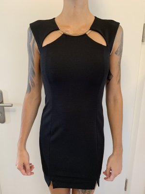Marciano (Guess) Cocktailkleid mit Cutouts in schwarz/gold