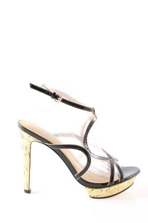 Marciano High Heels creme-schwarz Elegant