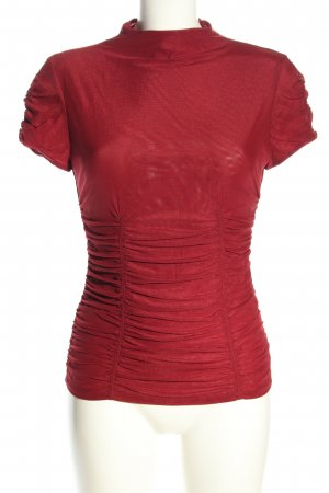 Marciano Kurzarm-Bluse rot Casual-Look